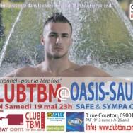 ClubTBM @Oasis Sauna (Lyon) – Samedi 19 mai 2012
