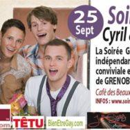 Soirée Conviviale et Musicale Cyril & Jeff – Mardi 25 septembre 2012