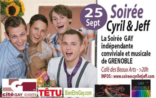 Soirée Conviviale et Musicale Cyril & Jeff - Mardi 25 septembre 2012
