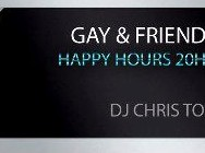 Gay & Friendly's (Icons Gay's) – Café Noir – Vendredi 26 octobre 2012