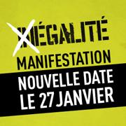 Inscription Manifestation pour l'Egalité – Grenoble -> Lyon -> Paris – 27/01/13