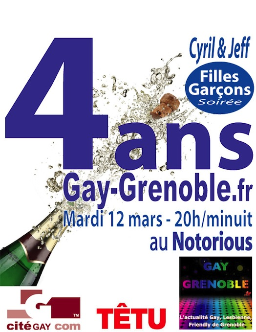 Gay Grenoble a 4 ans