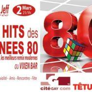 Cyril et Jeff Soirée – Les « Hits des années 80 » – Vixen – Samedi 2 mars 2013