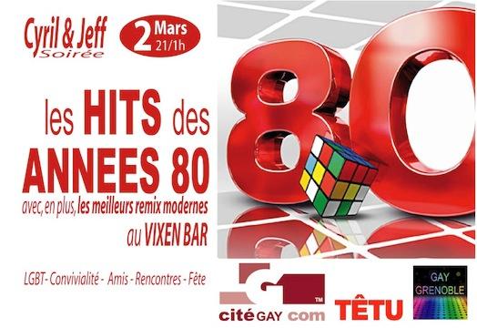 """Cyril et Jeff Soirée - Les """"Hits des années 80"""" - Vixen - Samedi 2 mars 2013"""