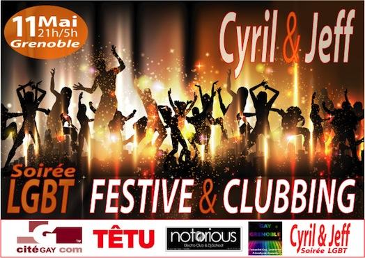 Soirée LGBT Festive & Conviviale au Notorious - Samedi 11 mai 2013