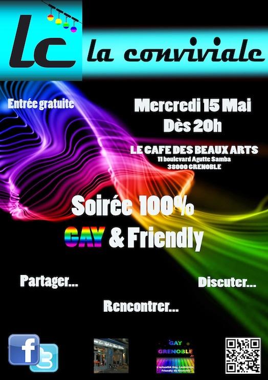 La Conviviale - Mercredi 15 mai 2013