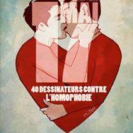 Projet 17 mai – 40 dessinateurs contre l'homophobie