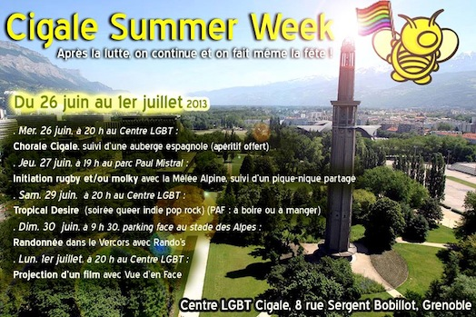 CIGALE Summer Week - Mercredi 26 juin 2013