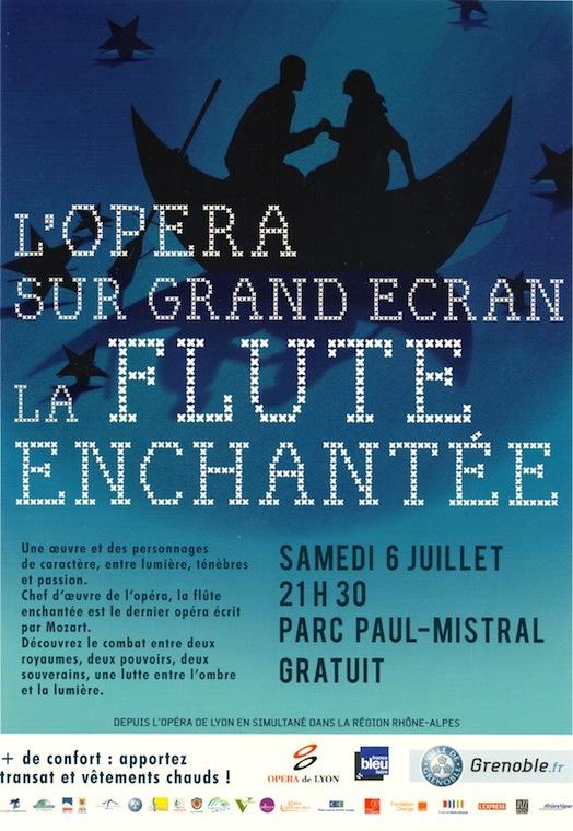 La Flûte Enchantée - Grenoble - Samedi 6 juillet 2013