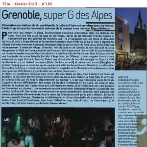 Presse - gay-grenoble.fr - Têtu Février 2013