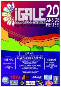 Marche des Fiertés - Grenoble - Samedi 17 mai 2014