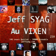 Mix Jeff Syag – Vixen – Samedi 24 mai 2014