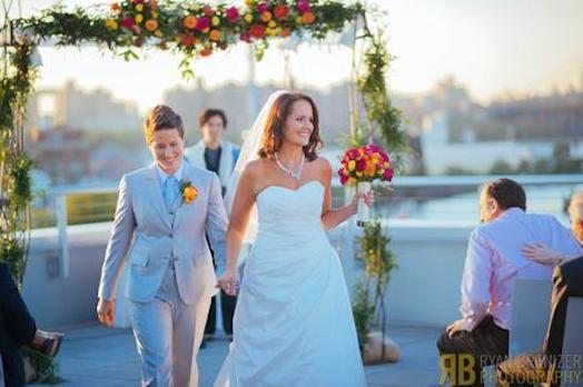 Vanessa et son amie se sont mariées en septembre 2013