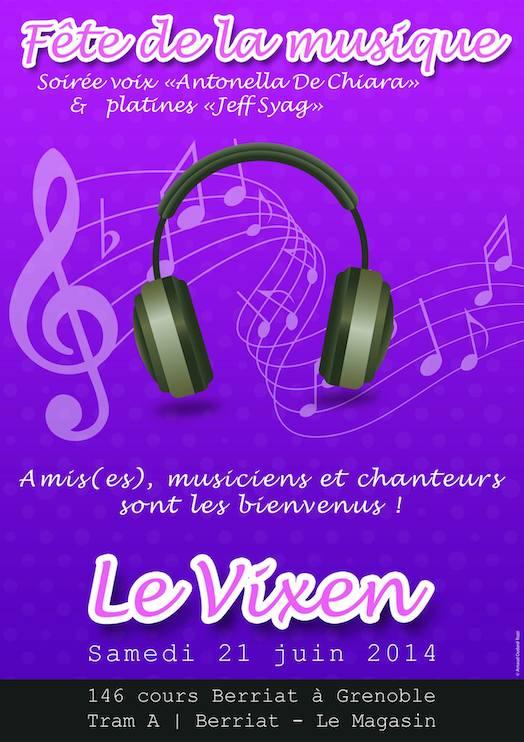 Fête de la Musique - Vixen - Samedi 21 juin 2014