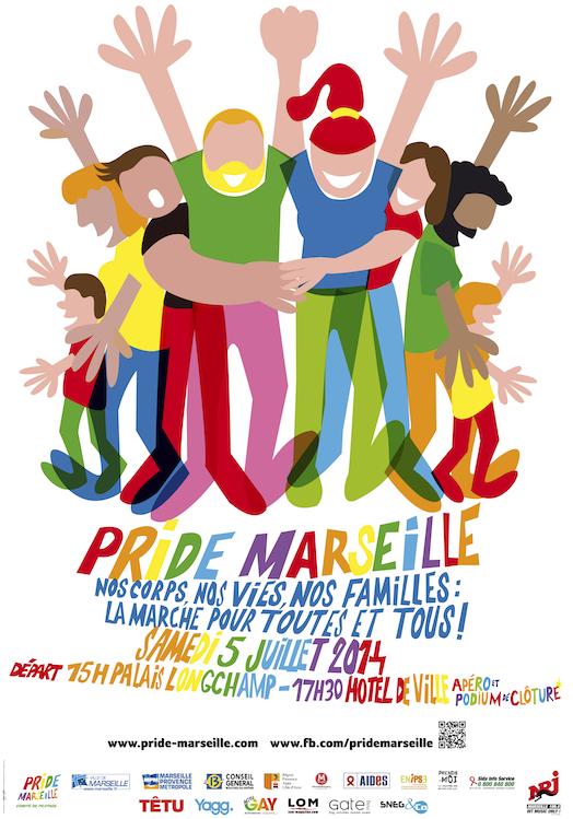 Gay Pride Marseille 2014: programme