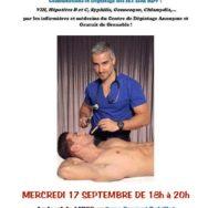 Permanence de santé sexuelle – Aides Rhône-Alpes – Mercredi 17 septembre 2014