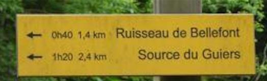 Randonnée le Dôme de Bellement et les Sources du Guiers - Rando's Rhône-Alpes - Dimanche 8 mai 2016