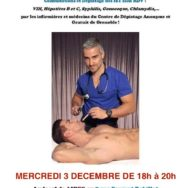 Permanence de santé sexuelle – Aides Rhône-Alpes – Mercredi 3 décembre 2014