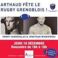 «Les Dieux du Stade» à la Librairie Arthaud – Jeudi 18 décembre 2014