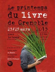 Printemps du livre - 13e Edition - Grenoble - 25 au 29 mars 2015
