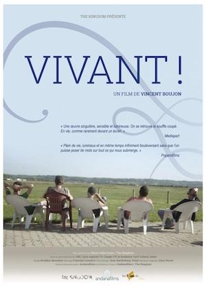 Projection «Vivant!» en présence du réalisateur Vincent Boujon - Mon Ciné - Mercredi 29 avril 2015
