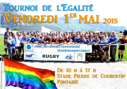 Tournoi de l'Egalité - La Mêlée Alpine - Vendredi 1er mai 2015