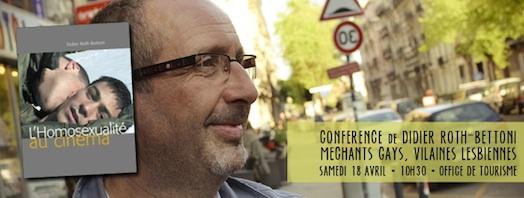 Vues d'en face #15 - Conférence Débat avec Didier Roth-Bettoni - Samedi 18 avril 2015