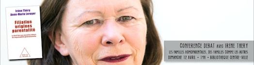 Vues d'en face #15 - Conférence Débat avec Irène Théry - Dimanche 12 avril 2015