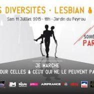 Marche des Diversités Lesbian & Gay Pride Montpellier – Samedi 11 juillet 2015