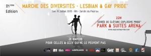 Gay Pride Montpellier 2015 Marche des Fiertés