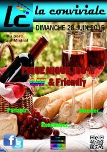Pique-Nique Estival - La Conviviale - Dimanche 28 juin 2015