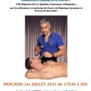 Permanence de santé sexuelle – Aides Rhône-Alpes – Mercredi 1er juillet 2015