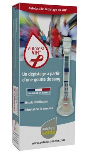 Disponible en pharmacie: les autotests de dépistage du VIH