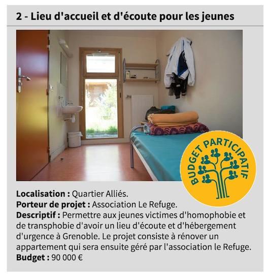 projet refuge grenoble 2016