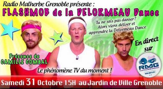 Flash Mob de la Delormeau Dance... - Grenoble - Samedi 31 octobre 2015
