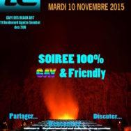 Mensuelle de Novembre – La Conviviale – Mardi 10 novembre 2015
