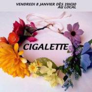 Cigalette – Centre LGBTI de Grenoble – CIGALE – Vendredi 8 janvier 2016