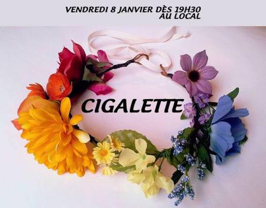 Cigalette - Centre LGBTI de Grenoble - CIGALE - Vendredi 8 janvier 2016