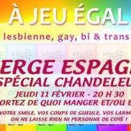 Auberge Espagnole Spécial Chandeleur – A Jeu Egal – Jeudi 11 février 2016