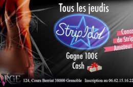 Strip Idol – George V – Jeudi 16 juin 2016