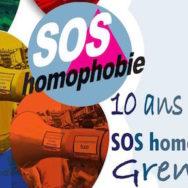 Permanence Mensuelle, Accueil Public – SOS Homophobie Grenoble – Mercredi 13 avril 2016