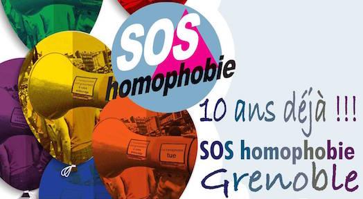 Sos Homophobie - 10 ans
