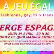 Auberge Espagnole – A Jeu Egal – Jeudi 14 avril 2016