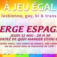 Auberge Espagnole – A Jeu Egal – Jeudi 12 mai 2016