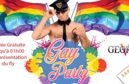 Gay Party – George V – Samedi 28 mai 2016