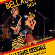 Concert BELLADONNA 9CH – Les Voies d'Elles – Vendredi 3 juin 2016