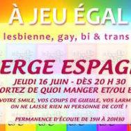 Auberge Espagnole – A Jeu Egal – Jeudi 16 juin 2016