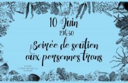 Soirée Transpaillettes – La BAF – Vendredi 10 juin 2016