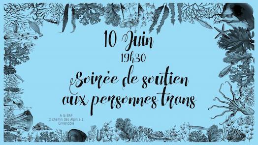 Soirée Transpaillettes - La BAF - Vendredi 10 juin 2016