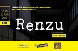 Renzu and friends – Atelier du 8 – Jeudi 30 juin 2016